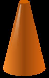 Simplified Cone Clip Art