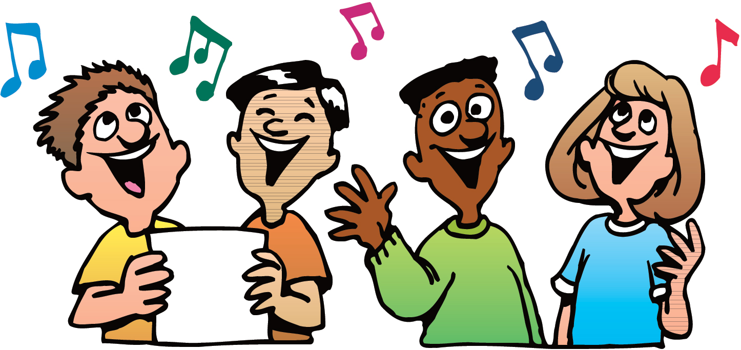 Singing Clip Art