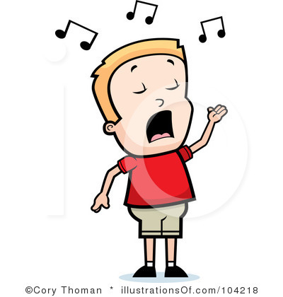 Singing Clip Art Singing Clipart