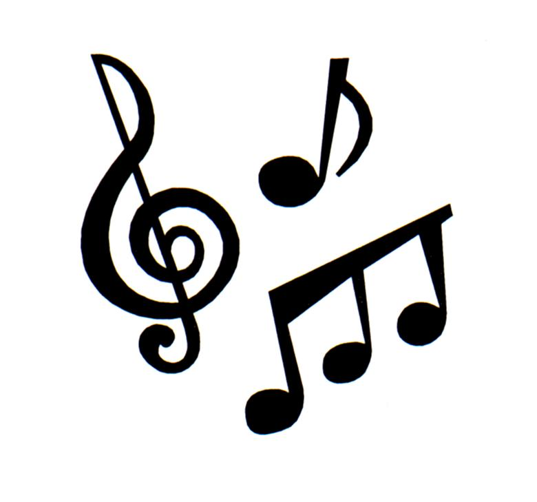 single music notes