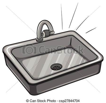 . hdclipartall.com A kitchen sink on a white background