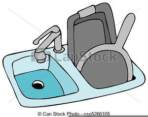 Kitchen Sink Clipart Free Image