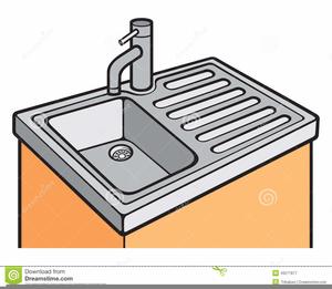 Kitchen Sink Clipart Image