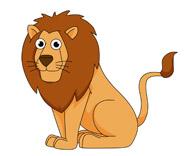 Sitting Lion Clipart