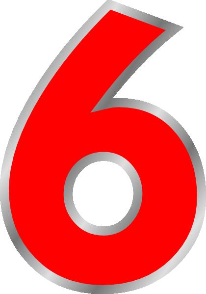 Six Clip Art