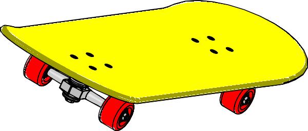 Skateboard Clip Art At Clker Com Vector Clip Art Online Royalty