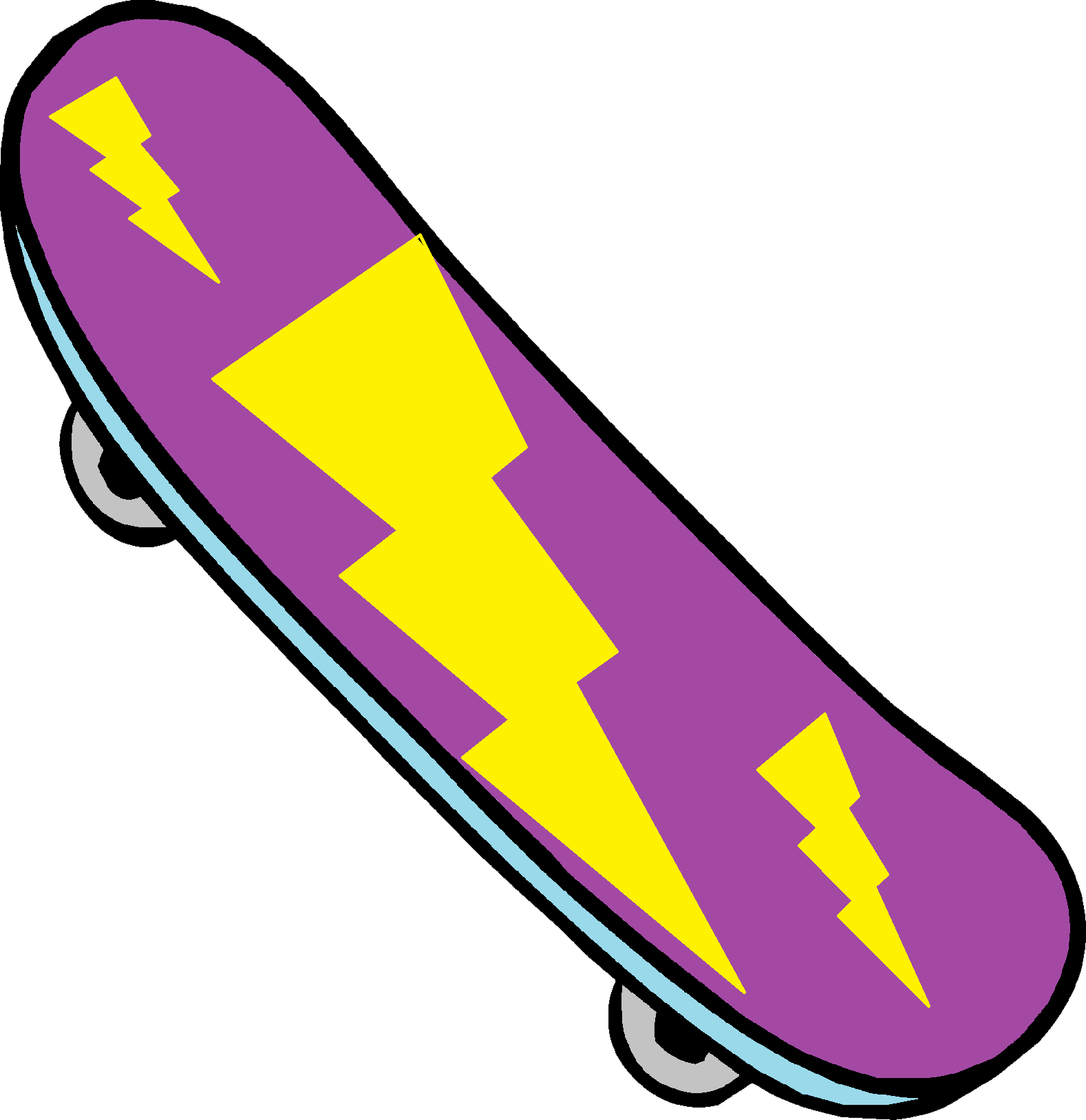 Skateboard PNG Clipart