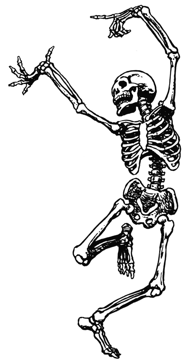Dancing-skeleton-clipart.jpg - Skeleton Clipart