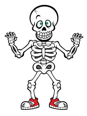 Skeleton clipart free clipart