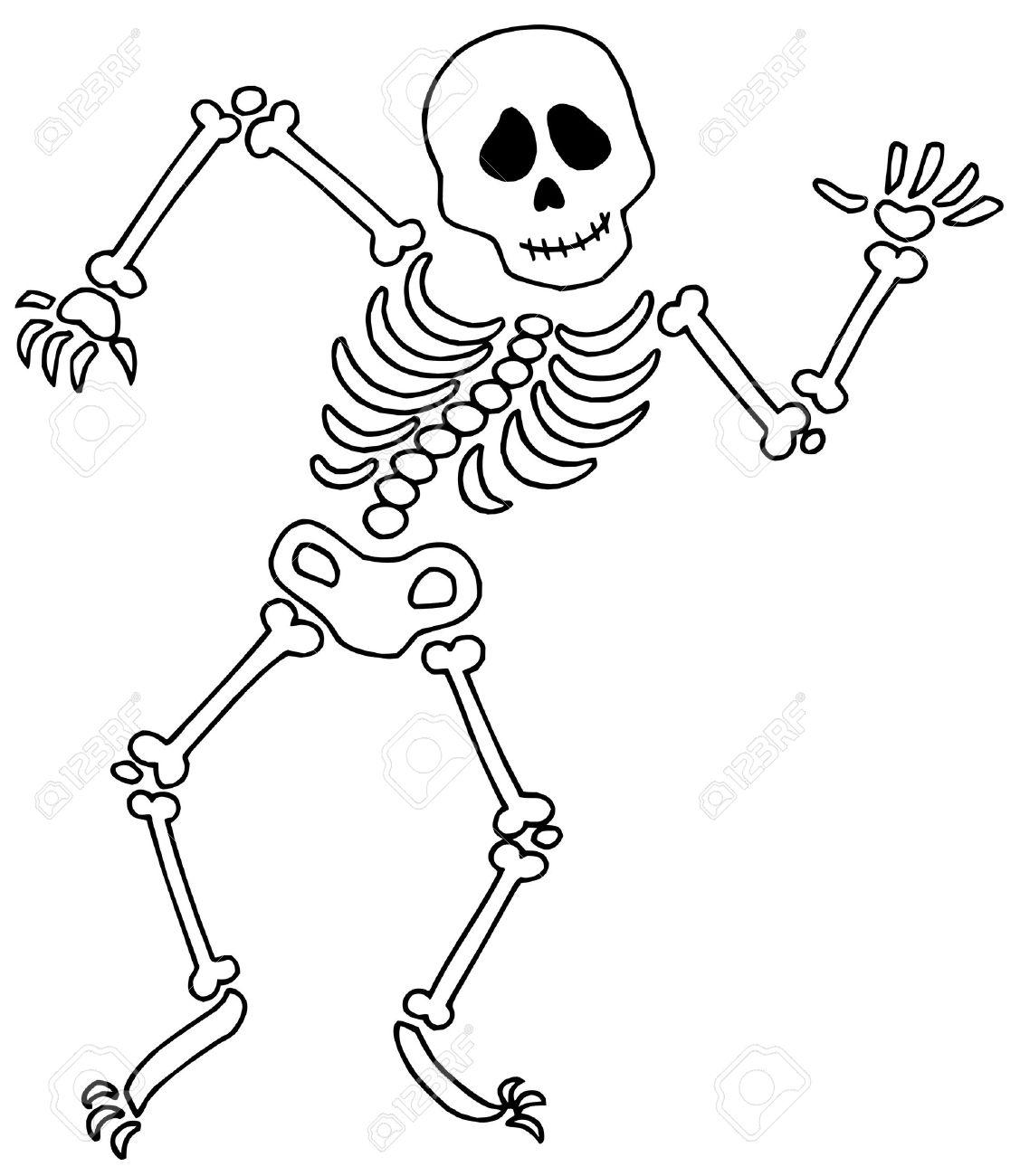 Skeleton Clipart For Kids .