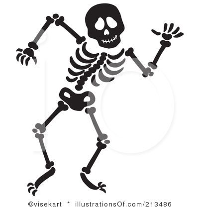 Skeletons, Clip art and .