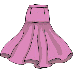 Skirt clipart, cliparts of Skirt free download (wmf, eps, emf, svg, png, gif) formats