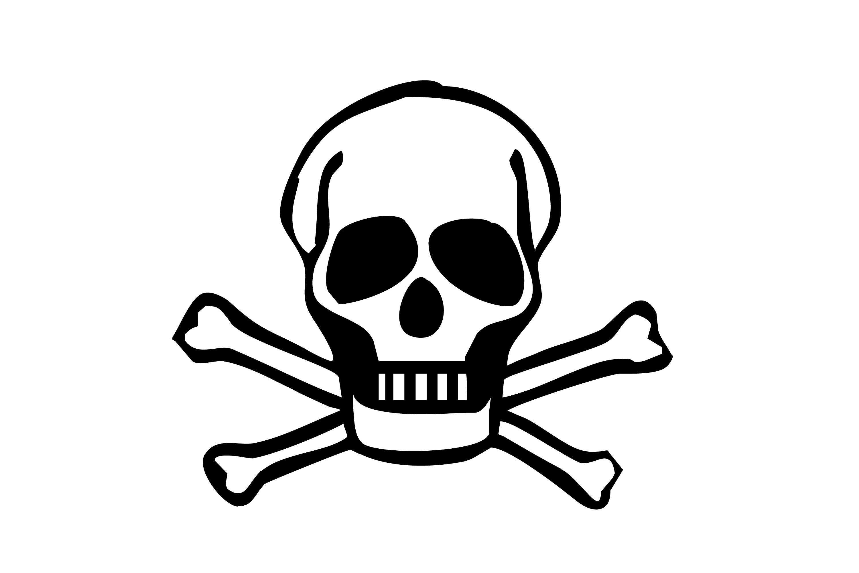Skull And Bones Keywords Skull Clipart Bone Head Cross Bones Crossed
