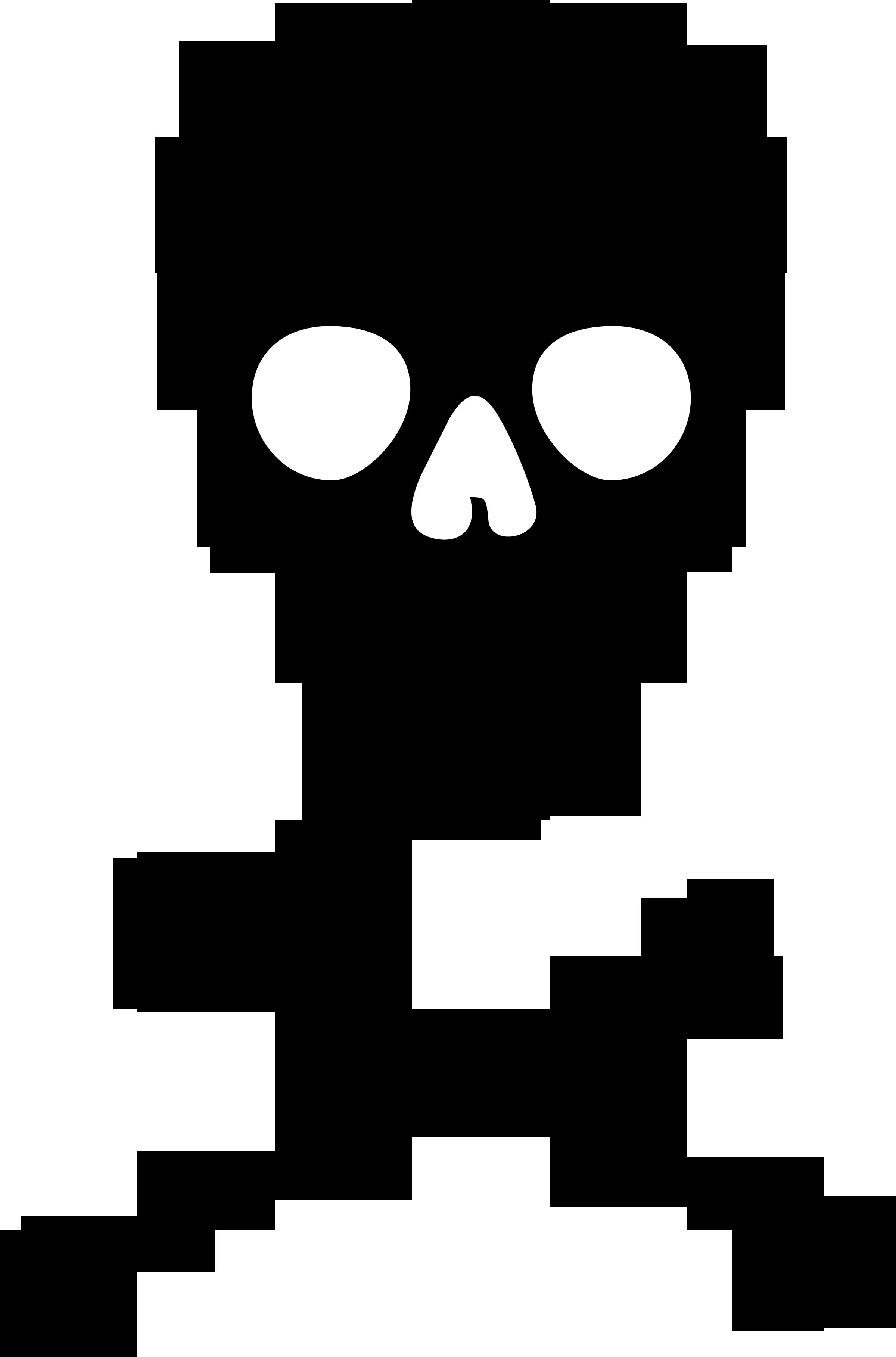 Skull And Crossbones Clipart .