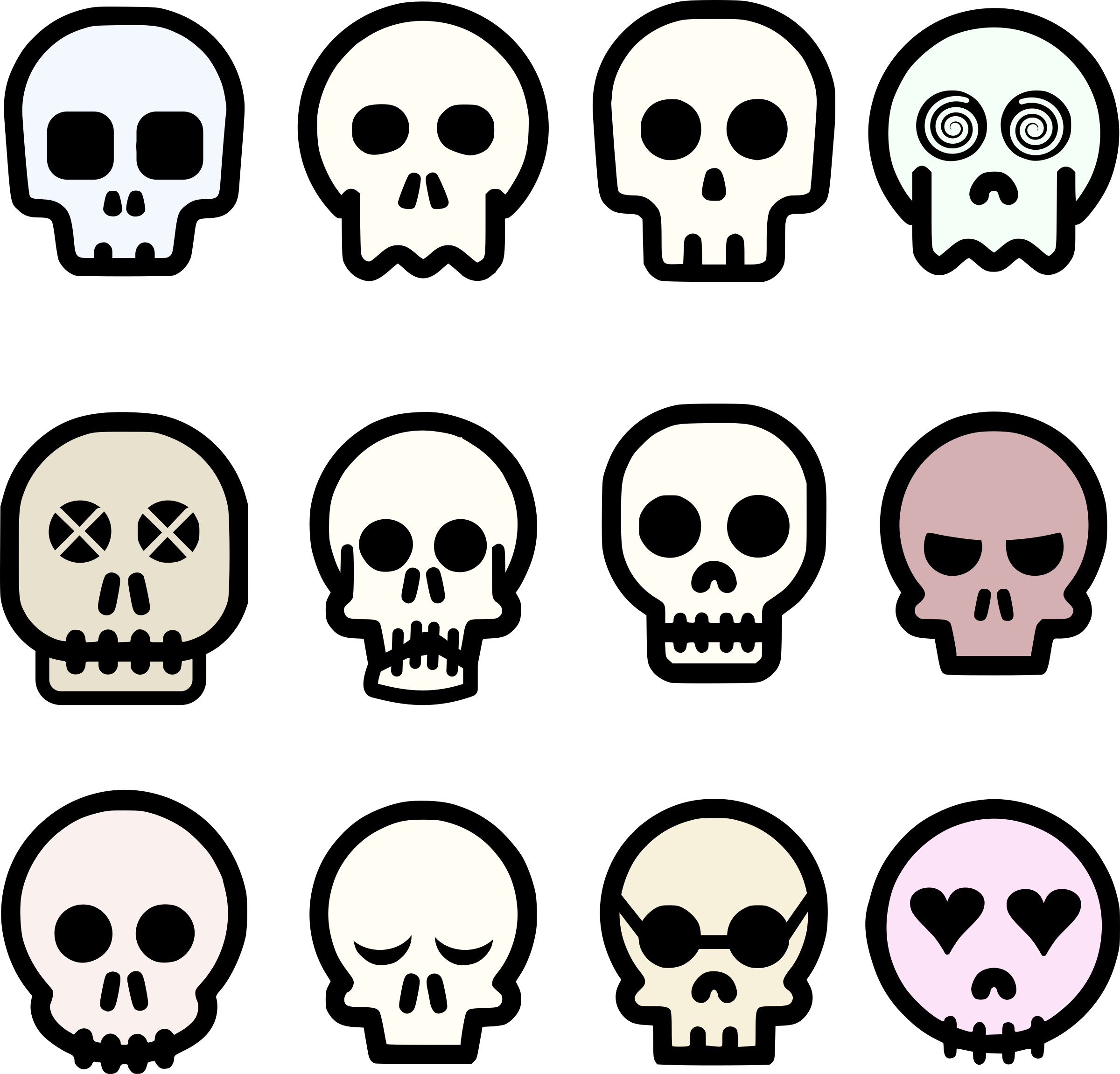 Free Photos u003e Vector Images u003e Skull Emoji Vector Clipart hdclipartall.com