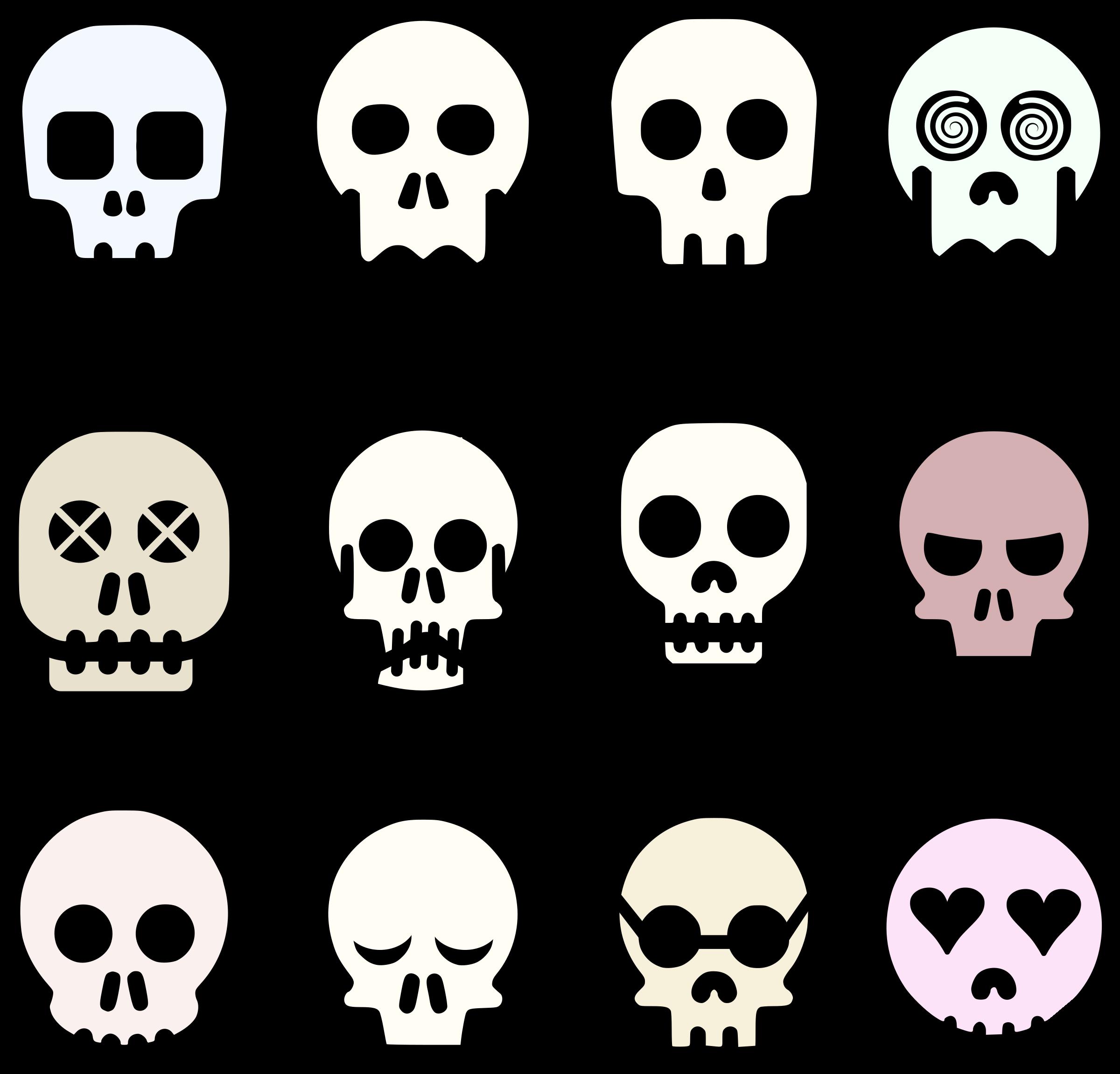 Free Photos u003e Vector Imag - Skull Clipart