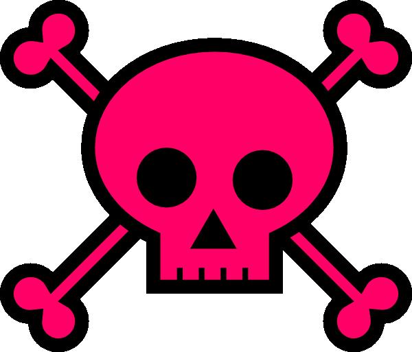 Skull With Crossbones Clip Art At Clker Com Vector Clip Art Online