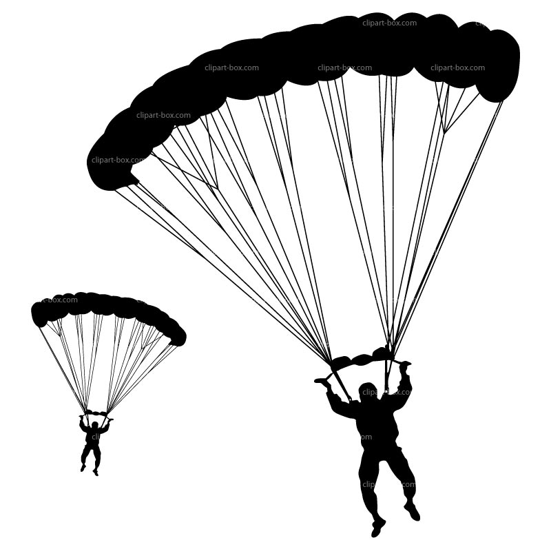 Skydiver Clipart Skydiving