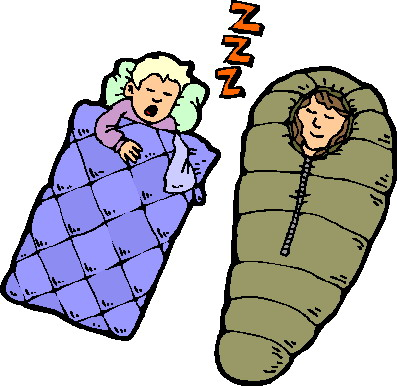 Sleeping Bag Clipart Cliparts Co