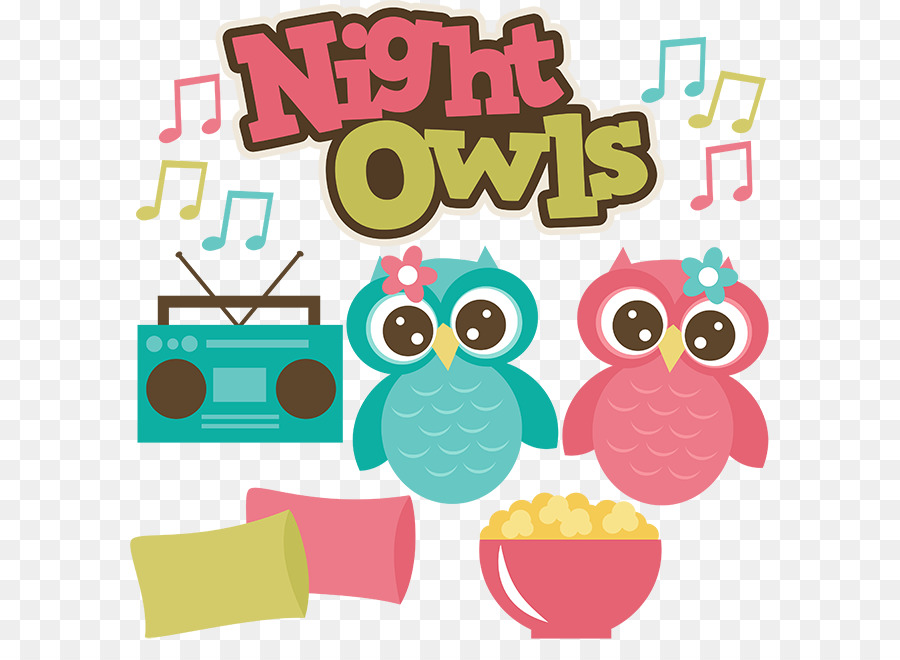 Sleepover Scalable Vector Graphics Night owl Clip art - Sleepover Clipart