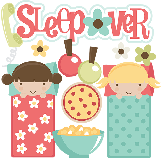 Sleepover Svg Files For Scrapbooking Sleepover Clipart Cute Sleeepover