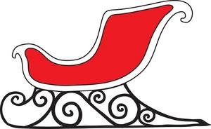 sleigh clipart