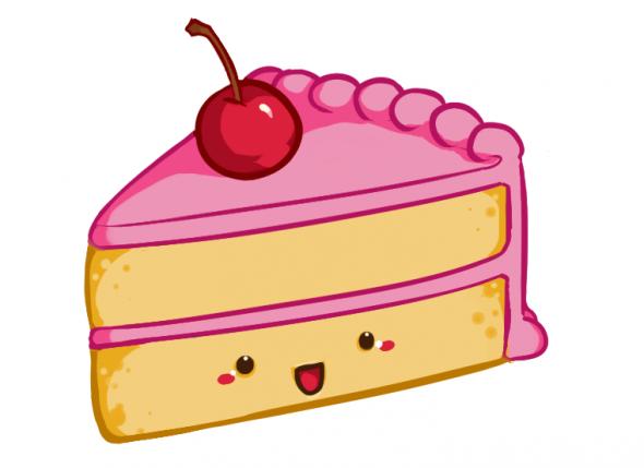 Slice Cake - ClipArt Best