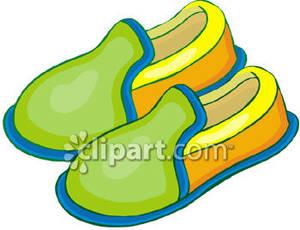 slipper clipart