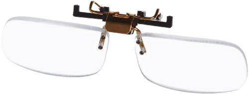 Small Clear Clip-on Flip-up Magnifying Reading Glasses  3.00 Diopter