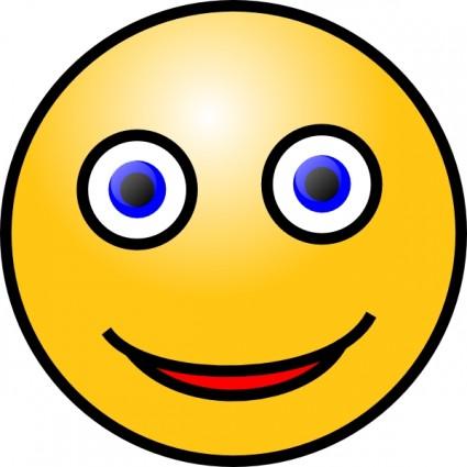 Smiley Face clip art Vector clip art - Free vector for free download