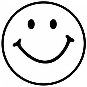 Smiley Face Black And White Free Clipart Images