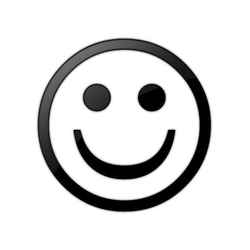 Smiley Face Clipart Black And - Smiley Face Clipart Black And White