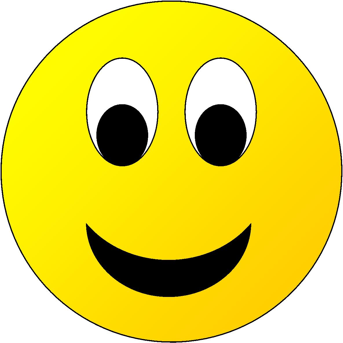 Happy Face Printable - Clipart library