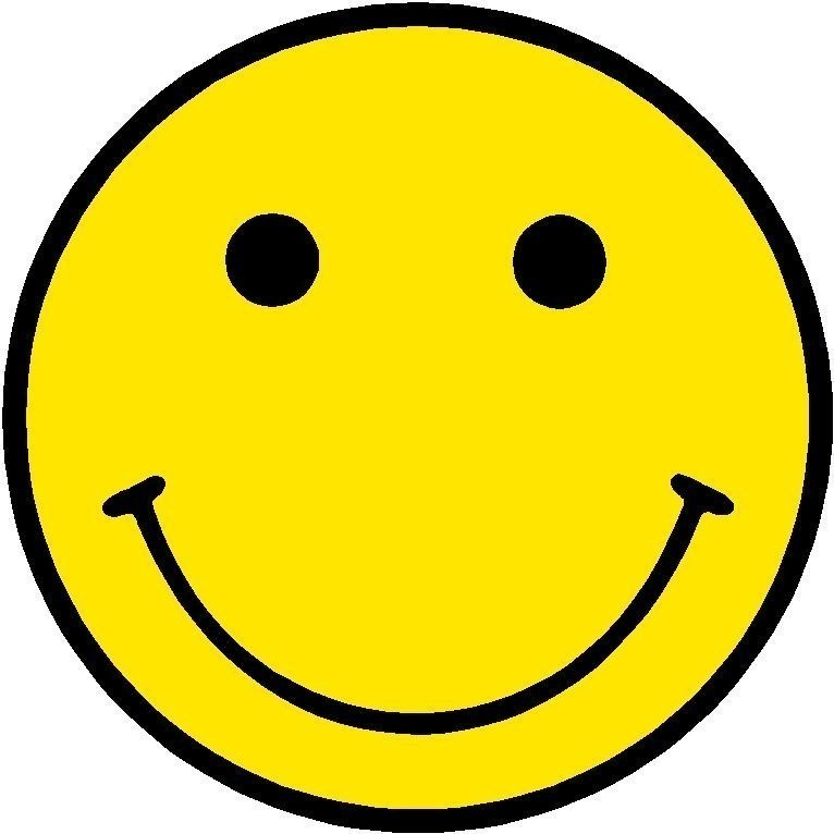 Yellow Smiley Face Clip Art