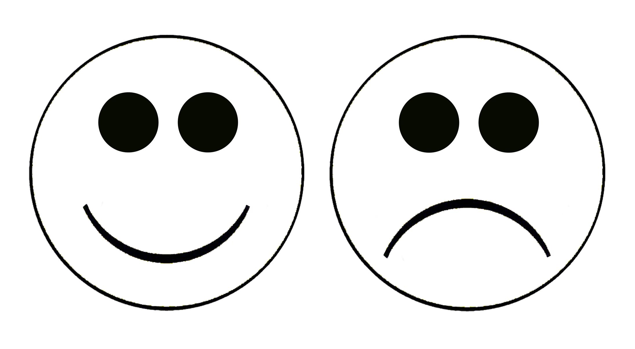 Smiley Face Sad Face