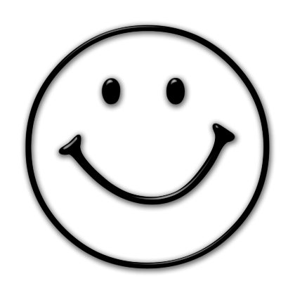 Smiley face star clipart free