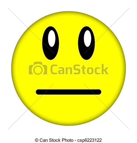 smiley face - Yellow .
