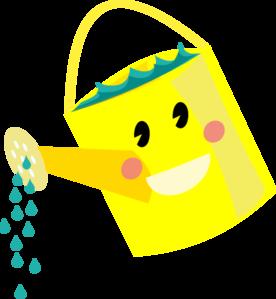 Smiling Watering Can Clip Art At Clker Com Vector Clip Art Online
