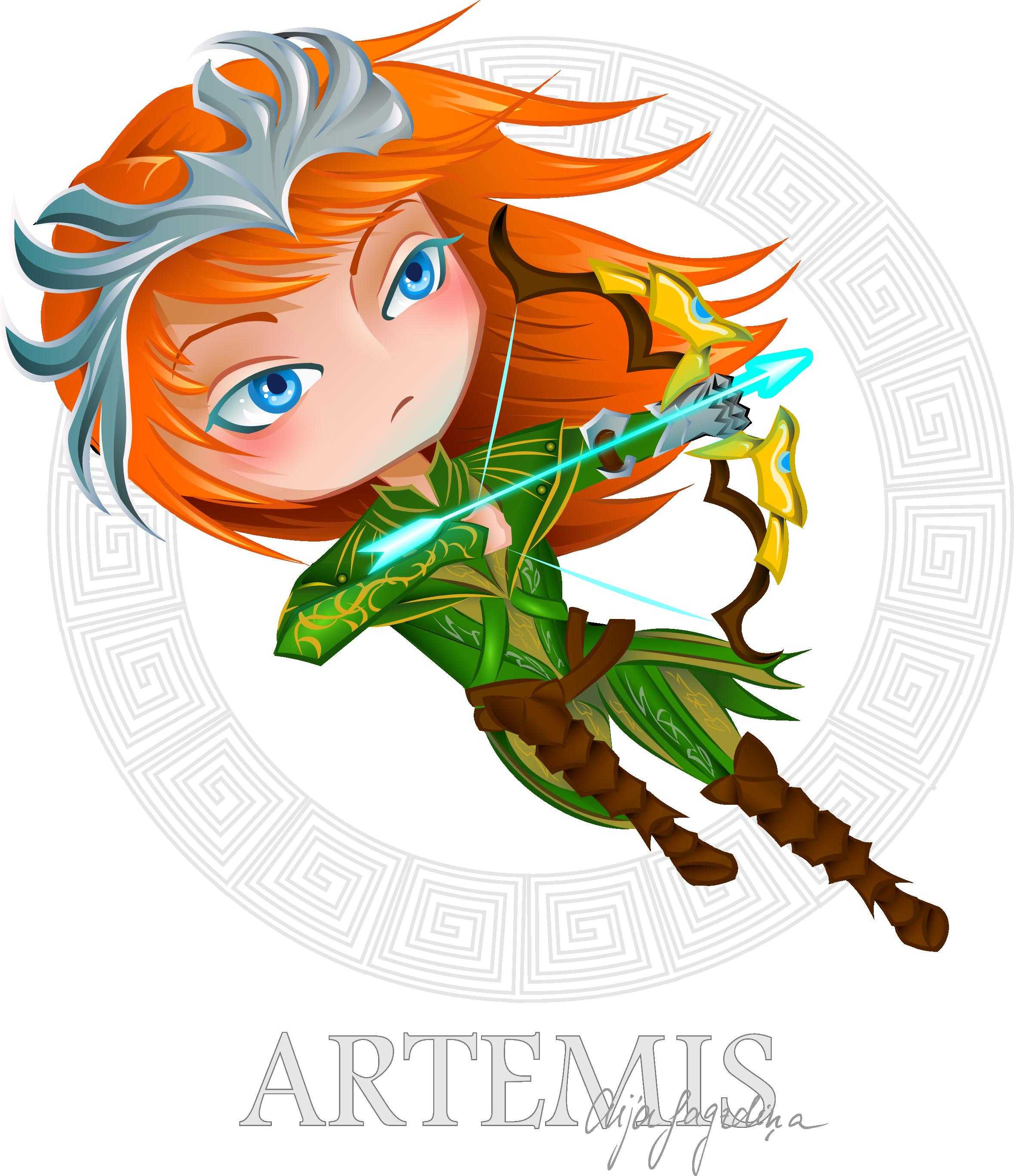 Artemis - Smite fanart by chirkucis.deviantart clipartlook.com on @DeviantArt