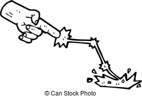 magic touch cartoon Vector Clip Artby lineartestpilot0/28 cartoon smiting  hand