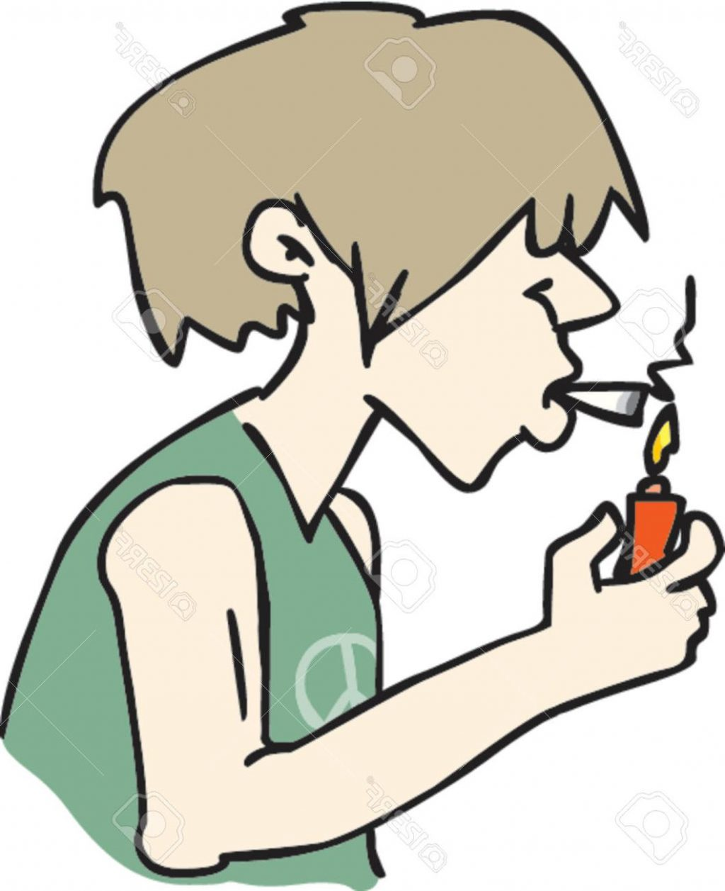 HD Smoking Clipart Library
