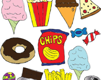Snack Food Clipart .