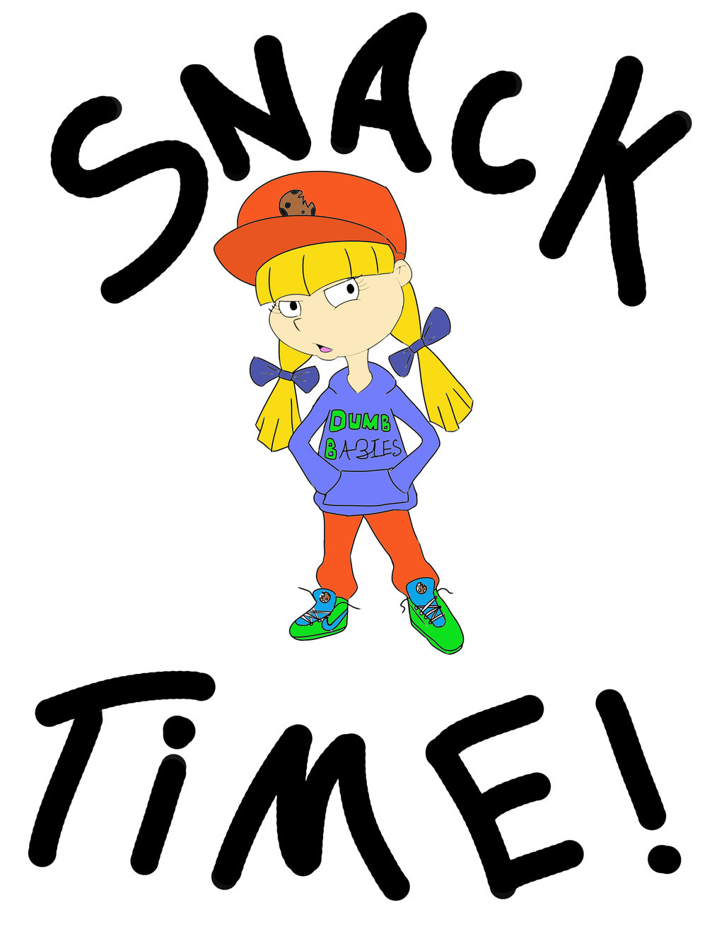 Snacks clipart image .