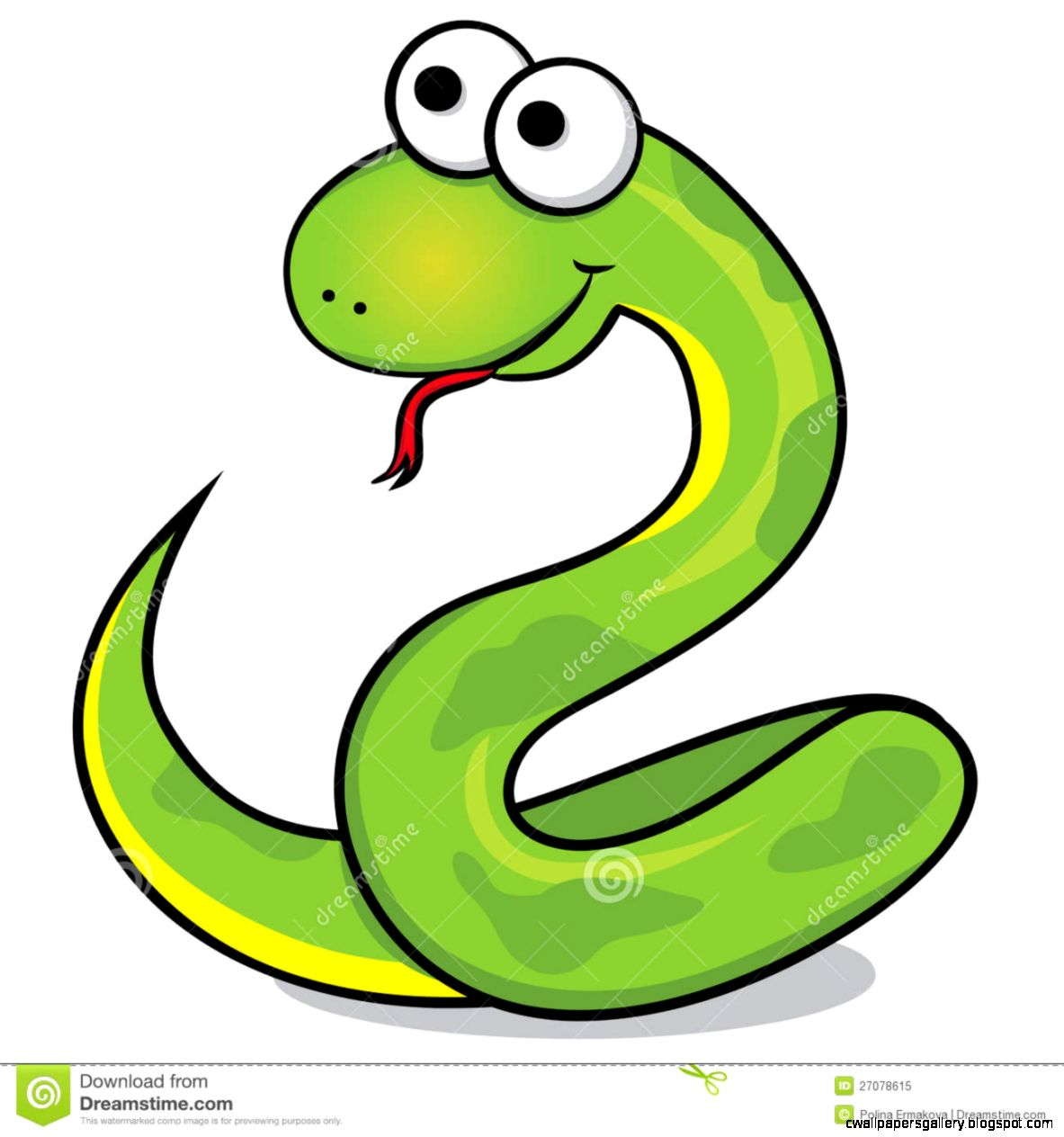 cute snake cartoon characters