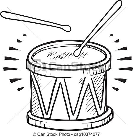 Snare drum sketch - .