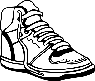 Sneaker cliparts