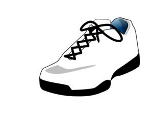 Sneaker High Quality Clip Art