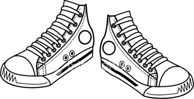 Sneakers pictures clip art .