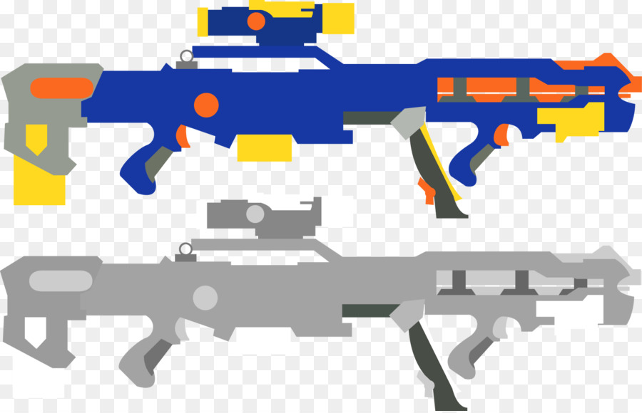 Nerf N-Strike Elite Nerf Blaster Clip art - guns