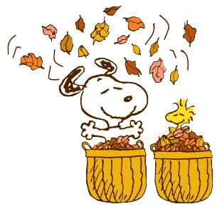 Snoopy u0026amp; Woodstock Autumn .
